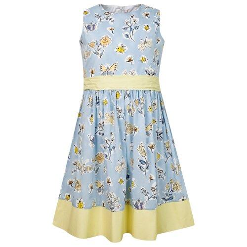 Платье Il Gufo размер 140, голубой