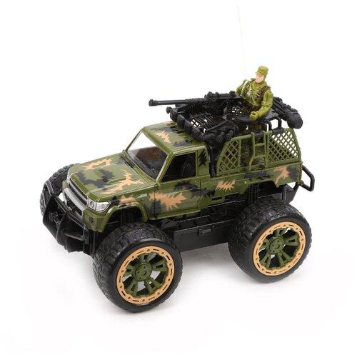 Внедорожник K.K 3699-A56 24 см зеленый, Радиоуправляемые игрушки  - купить со скидкой