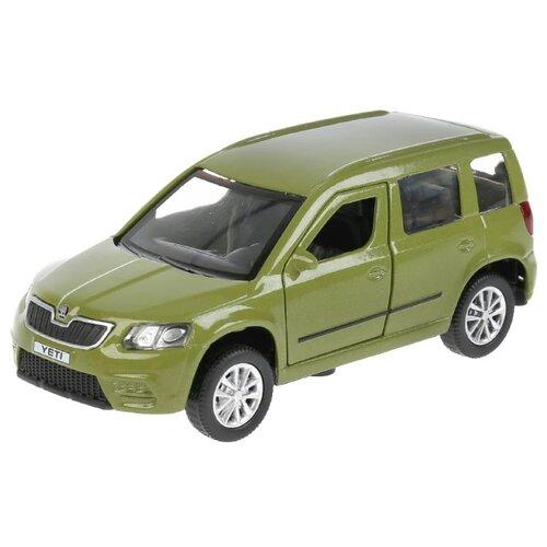 Купить Легковой автомобиль ТЕХНОПАРК Skoda Yeti (YETI-GN) 12 см зеленый, Машинки и техника