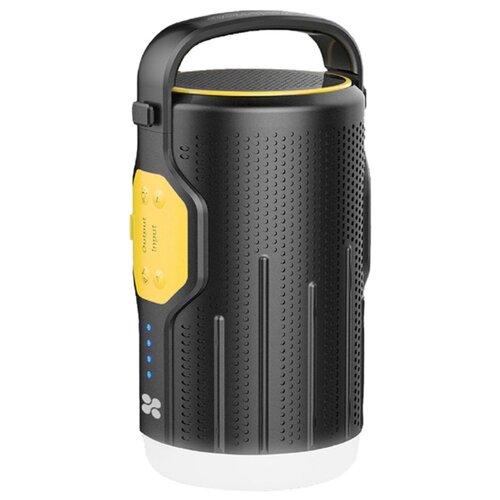 цена на Портативная акустика Promate CampMate-2 черный/желтый