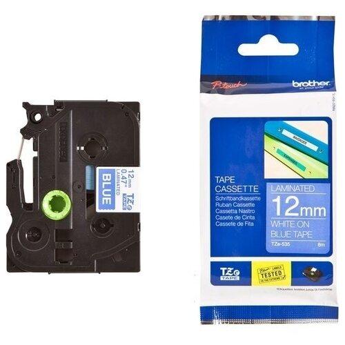Фото - Картридж для принтера этикеток Brother, арт. TZe-535 (12 мм) картридж для принтера этикеток brother арт tze 253 24 мм