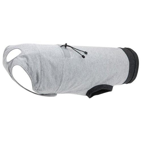 Попона для собак TRIXIE OP-Body защитная M-L серый