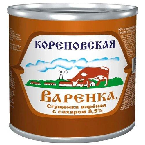 Сгущенка Кореновская Варенка с сахаром 8.5%, 3700 г