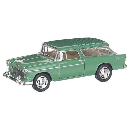 Купить Детская инерционная металлическая машинка с открывающимися дверями, модель Chevrolet Nomad hardtop, зеленый, Serinity Toys, Машинки и техника