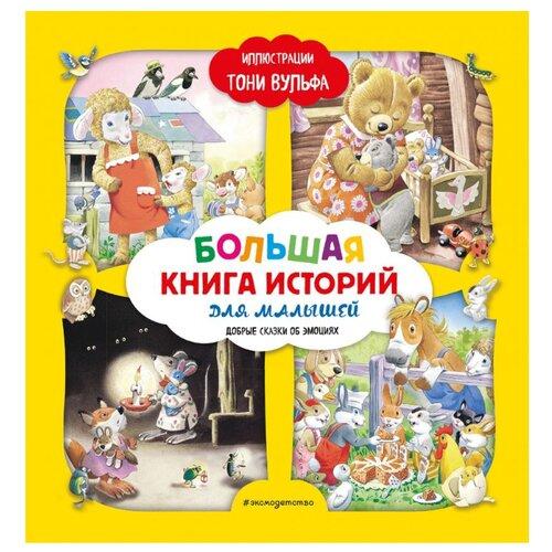 Купить Лэй А. Большая книга историй для малышей. Добрые сказки об эмоциях , ЭКСМО, Детская художественная литература