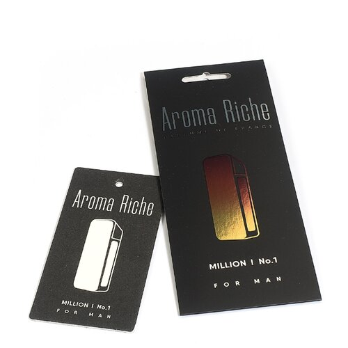Автолидер Ароматизатор для автомобиля, Aroma Riche мужской, Million №1