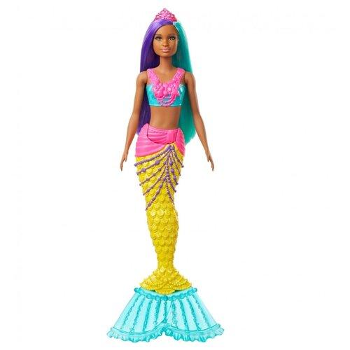 Фото - Кукла Barbie Dreamtopia Русалочка, 30 см, GJK10 кукла barbie dreamtopia