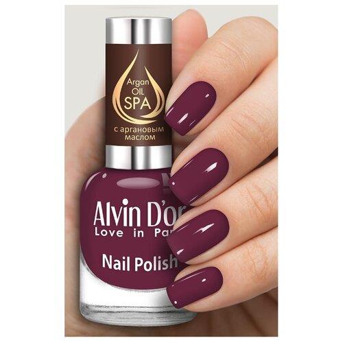 Лак Alvin D'or SPA Argan Oil, 15 мл, оттенок 5034 лак alvin d or spa argan oil 15 мл оттенок 5036