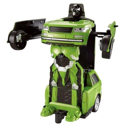 Фото - Робот-трансформер Jia Qi Troopers Tyrant зеленый qi dasen