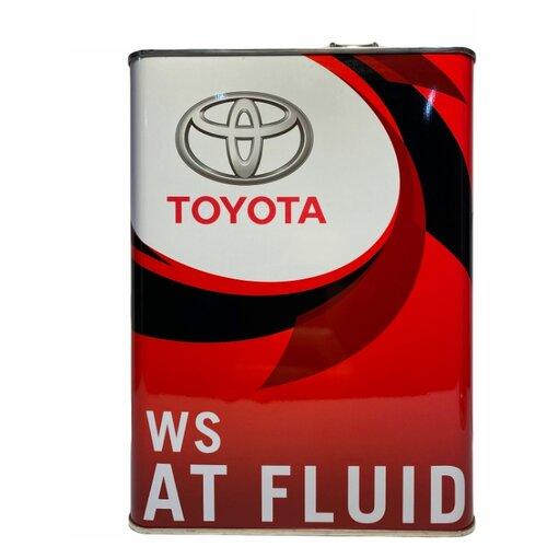 Трансмиссионное масло TOYOTA ATF WS 4 л трансмиссионное масло totachi atf ws 1 л 1 кг