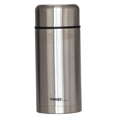 Классический термос Winner WR-8237 (1.2 л) серебристый