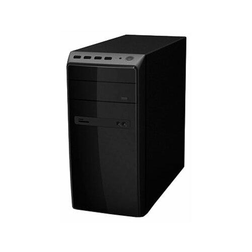 Компьютерный корпус Powerman ES726 450W Black компьютерный корпус delux dlc dw600 450w black