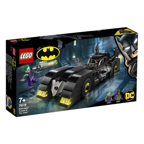 цена Конструктор LEGO DC Super Heroes 76119 Бэтмобиль: Погоня за Джокером онлайн в 2017 году