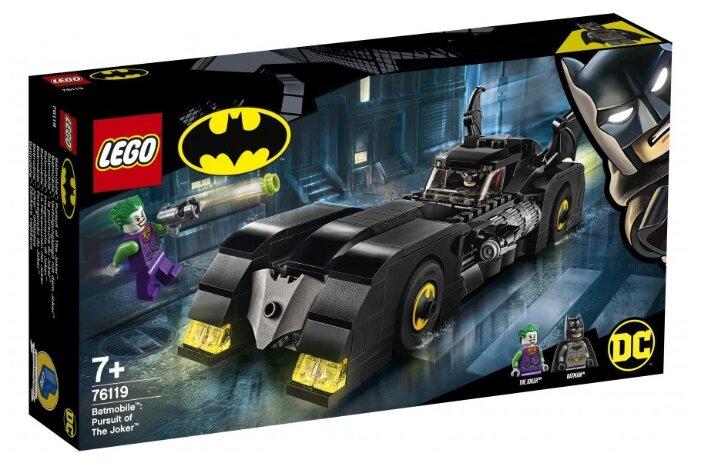 Конструктор LEGO DC Super Heroes 76119 Бэтмобиль: Погоня за Джокером