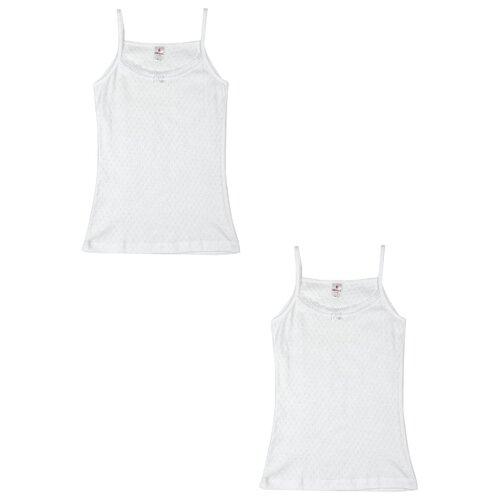 Купить Майка BAYKAR 2 шт., размер 134/140, белый, Белье и купальники