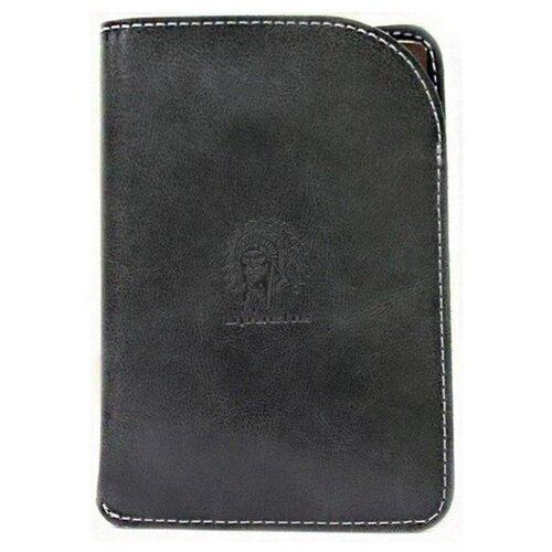 Обложка для паспорта Apache ОП-А, черный