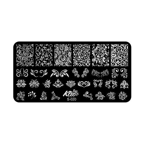 Купить Трафарет KLIO Professional №20 13 х 7 см black