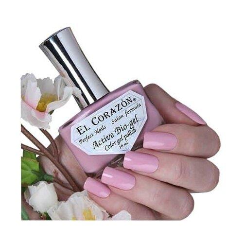 Гель El Corazon Active Bio-gel polish Cream, 16 мл, 423/345 chi luxury black seed oil curl defining cream gel