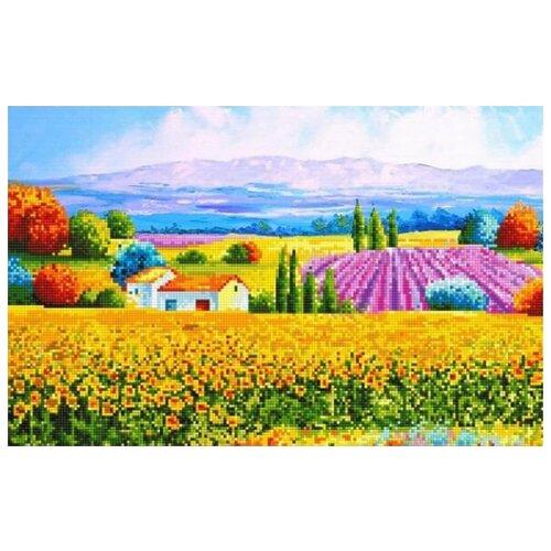 Алмазная вышивка Цветной Лето в Провансе, 40x30
