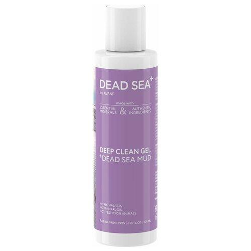 Купить Глубоко очищающий гель для лица с грязью Мертвого моря, 200 мл, Dead Sea +