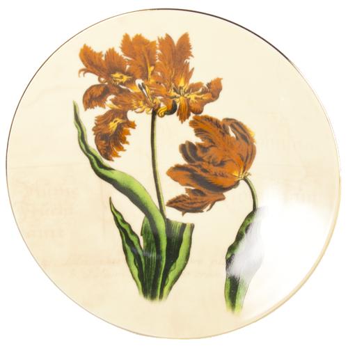 Тарелка декоративная настенная Thun1794 5929011, 19 см бежевый