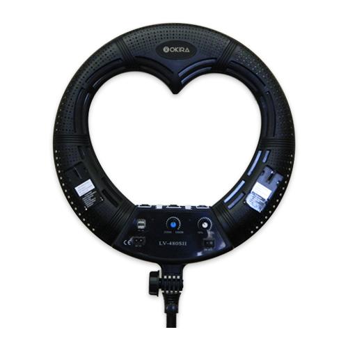 Фото - Кольцевая лампа OKIRA LED RING LV 480 S цвет черный лампа кольцевая veila led ring fill light 3436