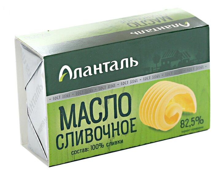 Аланталь Масло сливочное Традиционное 82.5%, 180 г