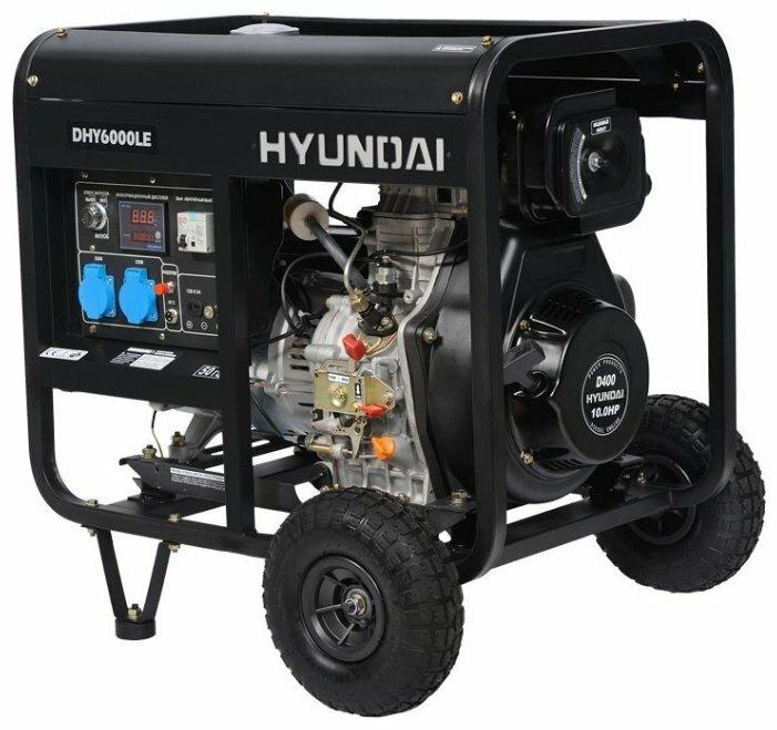 Дизельный генератор Hyundai DHY 6000 LE (5000
