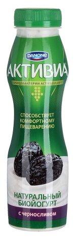Питьевой йогурт Активиа чернослив 2%, 290 г