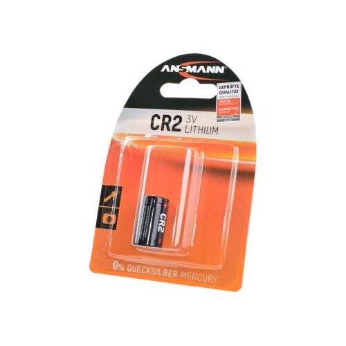 Батарейка ANSMANN CR2 1 шт блистер батарейка ansmann cr2025 1 шт блистер