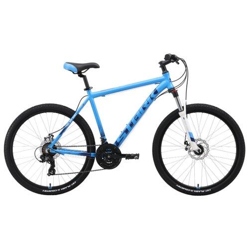 Горный (MTB) велосипед STARK Indy 26.2 D (2019) голубой/синий/белый 20 (требует финальной сборки)