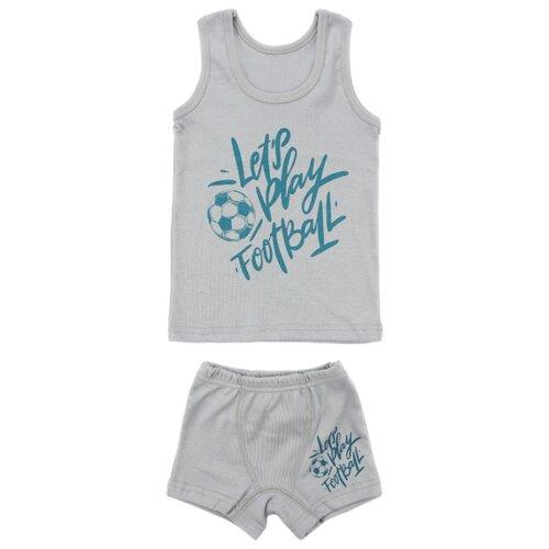 Купить Комплект нижнего белья iBala размер 38 (110-116), серый, Белье и пляжная мода