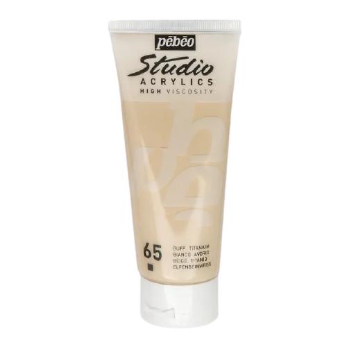 Купить Pebeo Краска акриловая Studio Acrylics, 100 мл слоновая кость, Краски