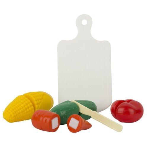 Купить Набор продуктов СТРОМ Режем овощи У952 разноцветный, Игрушечная еда и посуда