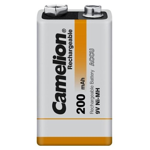 Фото - Аккумулятор Ni-Mh 200 мА·ч Camelion 6F22 SP-1, 1 шт. аккумулятор ni mh 2500 ма·ч camelion nh aa2500 2 шт