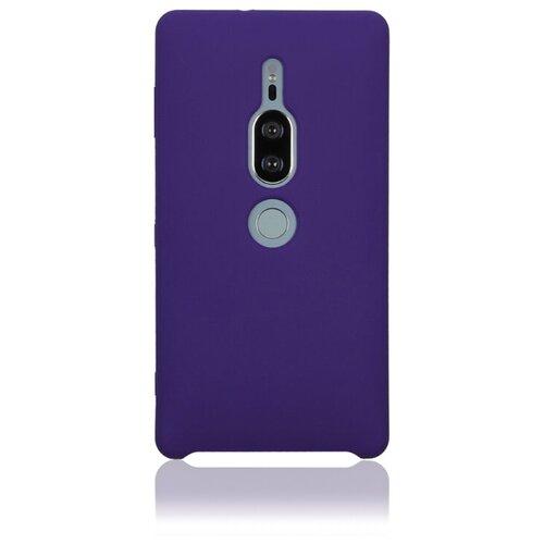 Чехол Rosco XZ2P-SOFTRUBBER для Sony Xperia XZ2 Premium фиолетовый