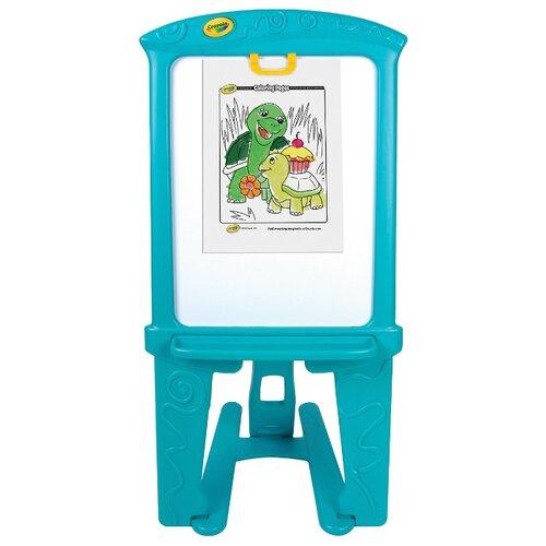 Купить Мольберт детский Crayola двухсторонний (5085) голубой, Доски и мольберты