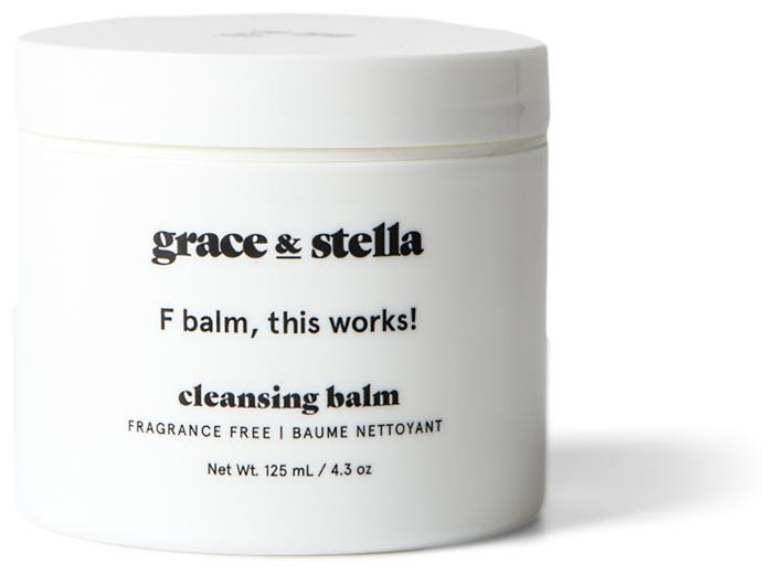 Grace & Stella очищающий бальзам для лица