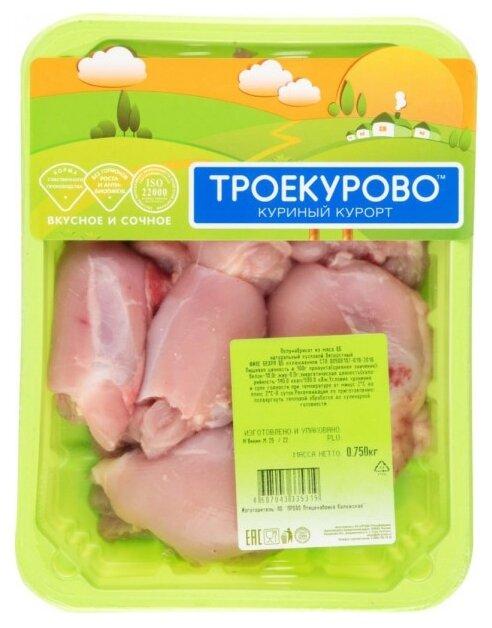 Троекурово Филе бедра цыпленка бройлера охлажденное