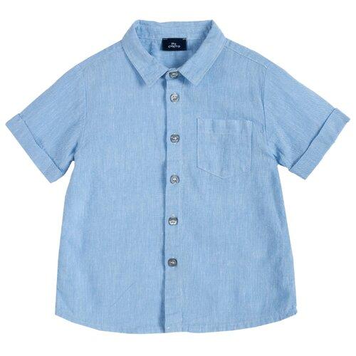 Купить Рубашка Chicco размер 104, голубой, Рубашки