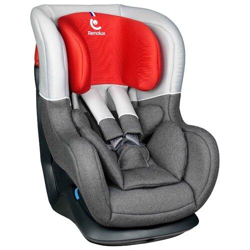 Автокресло группа 0/1 (до 18 кг) Renolux Austin, smart red автокресло группа 1 2 3 9 36 кг little car ally с перфорацией черный