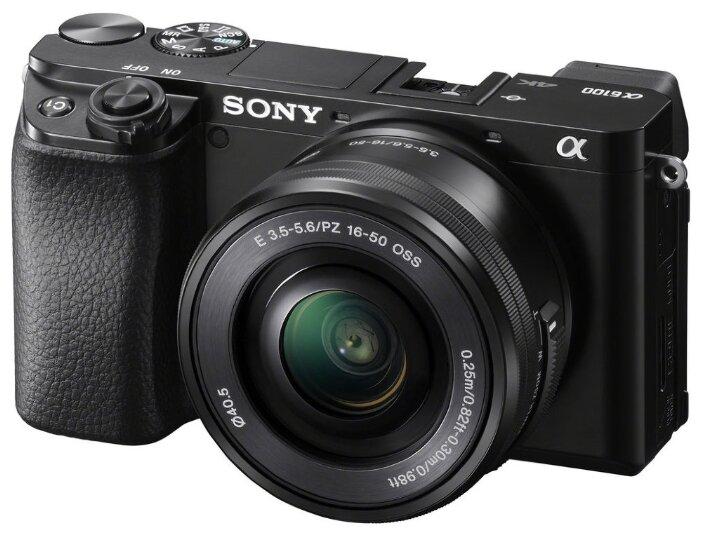 Фотоаппарат Sony Alpha ILCE-6100 Kit черный E PZ 16-50mm F/3.5-5.6 OSS фото 1