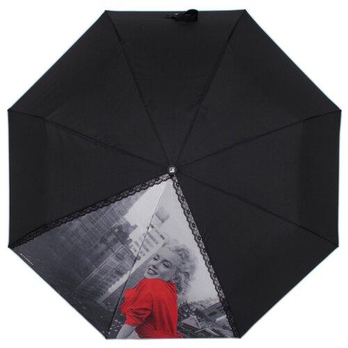 Зонт автомат FLIORAJ 20104 FJ черный