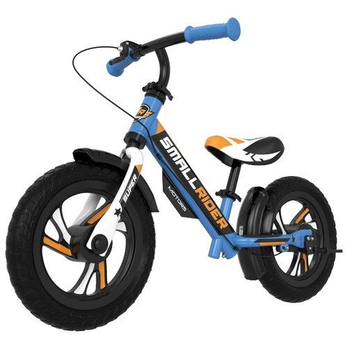 Фото - Беговел Small Rider Motors EVA, синий беговел 700kids a1 сompetitive small scooter черно желтый cr02a