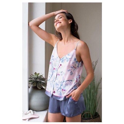 Пижама Laete, размер XS(42), розовый/фиолетовый юбка laete размер xs 42 оранжевый