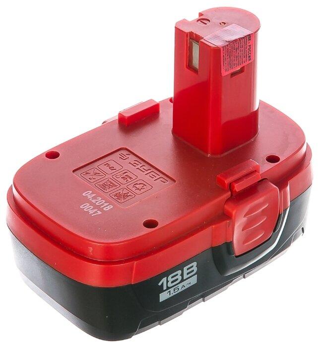 Аккумулятор ЗУБР ЗАКБ-18 N15 Ni-Cd 18 В 1.5 А·ч — цены на Яндекс.Маркете