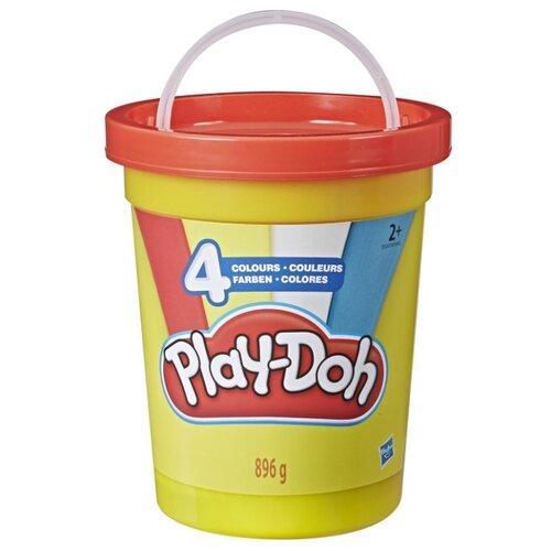 Масса для лепки Play-Doh большая банка красная крышка 4 цвета 896 г (E5207/E5045) feron e5207 06220