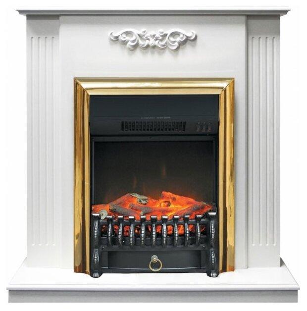 Электрический камин Royal Flame Fobos BR (белый) + Lumsden