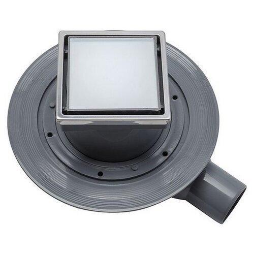 Трап для душа PESTAN Confluo Standard Dry 1 White Glass 13000104 душевой трап pestan dry 13000107