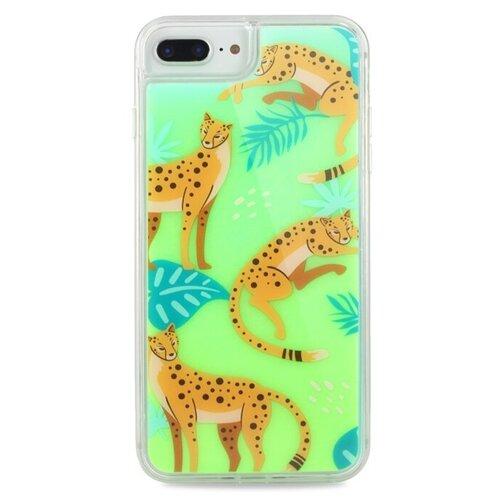 Чехол Pastila Neon Case для Apple iPhone 6 Plus/iPhone 7 Plus/iPhone 8 Plus Леопарды чехол pastila charm для apple iphone 6 plus iphone 7 plus iphone 8 plus бэби